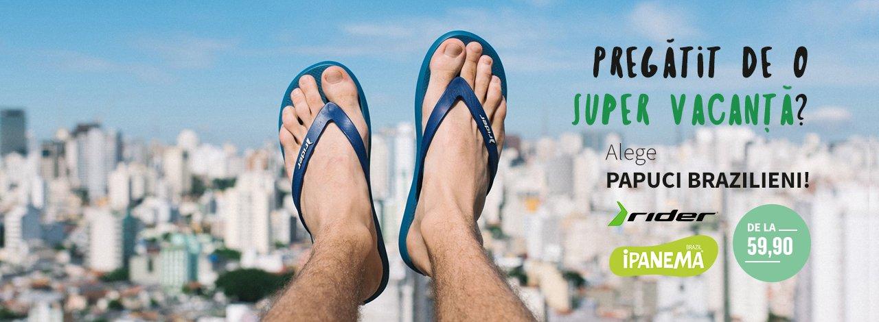 Alege papuci brazilieni!