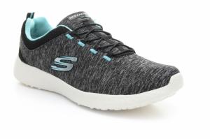 Pantofi sport  SKECHERS  pentru femei BURST 12431_BKTQ