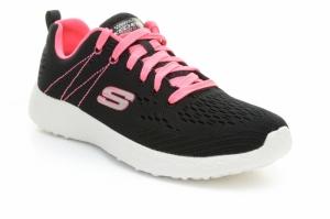 Pantofi sport  SKECHERS  pentru femei BURST 12434_BKHP