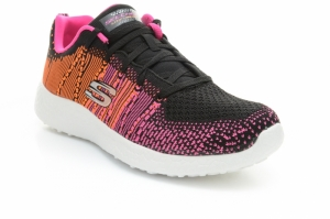 Pantofi sport  SKECHERS  pentru femei BURST 12437_BKPO