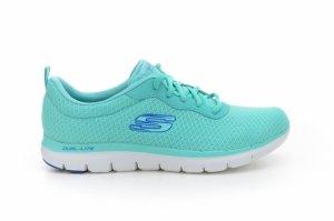 Pantofi sport  SKECHERS  pentru femei FLEX APPEAL 2.0NEWSMAKER 12775_TURQ