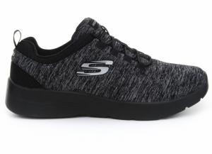 Pantofi sport  SKECHERS  pentru femei DYNAMIGHT 2.0- IN A FLASH 12965_BKCC