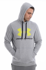Hanorac  UNDER ARMOUR  pentru barbati RIVAL FITTED GRAPHIC HOODIE 1302294_025