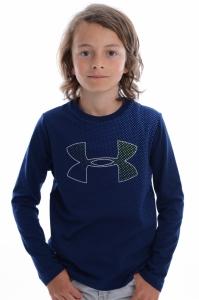 Bluza  UNDER ARMOUR  pentru copii HALFTONE BRANDED LS T 1305220_408
