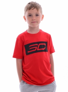 Tricou  UNDER ARMOUR  pentru copii SC30 LOGO SS T 1305262_600