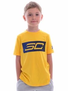 Tricou  UNDER ARMOUR  pentru copii SC30 LOGO SS T 1305262_766