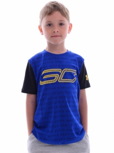 Tricou  UNDER ARMOUR  pentru copii SC30 REPPIN SHERSEY SS T 1305269_400