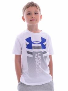 Tricou  UNDER ARMOUR  pentru copii VERITCAL LOGO SS T 1310271_100