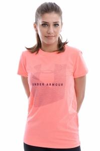 Tricou  UNDER ARMOUR  pentru femei SPORTSTYLE MESH LOGO CREW 1310488_819