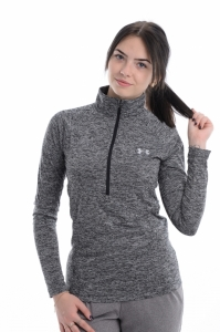 Bluza  UNDER ARMOUR  pentru femei NEW TECH 1/2 ZIP - TWIST 1320128_001