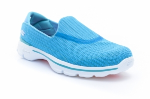 Pantofi fitness  SKECHERS  pentru femei GO WALK 3 13980_TURQ