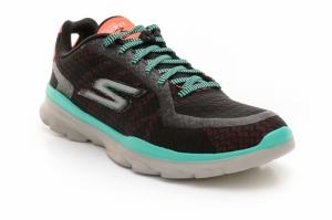 Pantofi fitness  SKECHERS  pentru femei GO FIT 3 14085_BKAQ