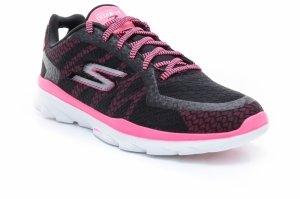 Pantofi fitness  SKECHERS  pentru femei GO FIT 3 14085_BKHP