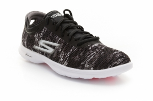 Pantofi sport  SKECHERS  pentru femei GO STEP ONE-OFF 14200_BKW