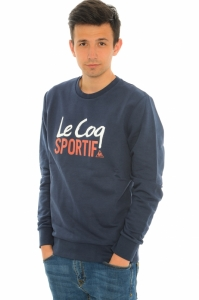 Bluza  LE COQ SPORTIF  pentru barbati LIGNE LOGO CHICANE CREW SWEAT M 151037_7