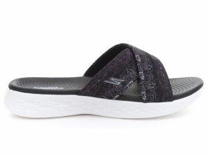 Papuci  SKECHERS  pentru femei ON-THE-GO 600 - MONA 15306_BKW