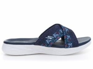 Papuci  SKECHERS  pentru femei ON-THE-GO 600 - MONA 15306_NVY