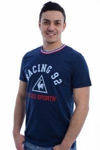 Tricou  LE COQ SPORTIF  pentru barbati RACING 92 TENUE PRESENTATION TEE 2 172163_9