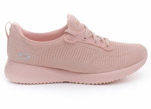 Pantofi sport  SKECHERS  pentru femei BOBS SQUAD - PHOTO FRAME 31362_LTPK