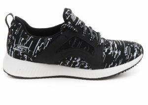 Pantofi sport  SKECHERS  pentru femei BOBS SQUAD 31363_BKW