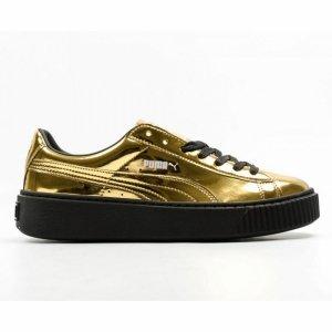 Pantofi casual  PUMA  pentru femei BASKET PLATFORM METALLIC