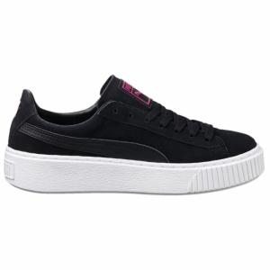 Pantofi casual  PUMA  pentru femei SUEDE PLATFORM JR 363663_01