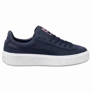 Pantofi casual  PUMA  pentru femei SUEDE PLATFORM JR 363663_03
