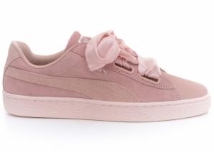 Pantofi casual  PUMA  pentru femei SUEDE HEART PEBBLE WN S 365210_01