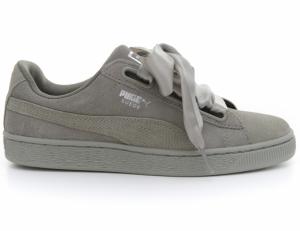 Pantofi casual  PUMA  pentru femei SUEDE HEART PEBBLE WN S 365210_02