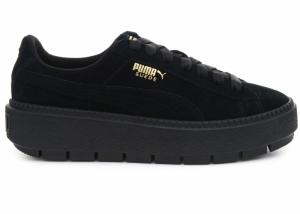 Pantofi casual  PUMA  pentru femei SUEDE PLATFORM TRACE WN S 365830_01