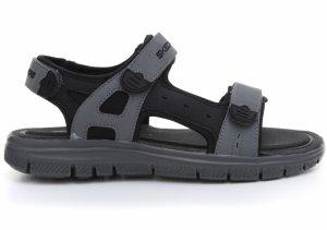 Sandale  SKECHERS  pentru barbati FLEX ADVANTAGE 1.0- 51874_BKCC