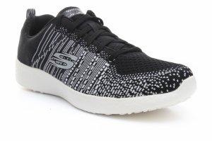 Pantofi sport  SKECHERS  pentru barbati BURST IN THE MIX 52107_BKW