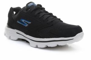 Pantofi de alergat  SKECHERS  pentru barbati GO WALK 3 REVOLVE 54061_BKBL