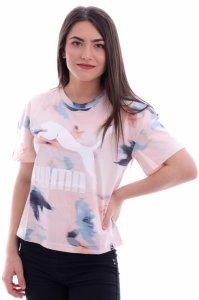 Tricou  PUMA  pentru femei CLASSICS LOGO TEE AOP 575068_36