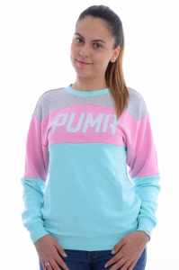 Bluza  PUMA  pentru femei ATHLETIC CREW SWEAT W