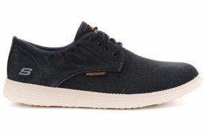 Pantofi casual  SKECHERS  pentru barbati STATUS- BORGES 64629_BLK