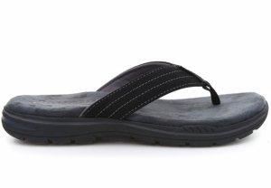 Papuci  SKECHERS  pentru barbati EVENTED- ROSEN 65090_BLK