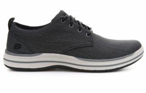 Pantofi casual  SKECHERS  pentru barbati ELSON- MOTEN 65388_BLK