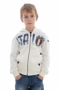 Jacheta  PUMA  pentru copii FIGC ITALIA AZZURRI ZIPTHROUGH JR 746947_07