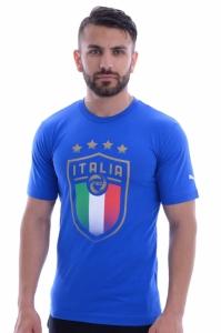 Tricou  PUMA  pentru barbati FIGC ITALIA BADGE TEE 752613_01