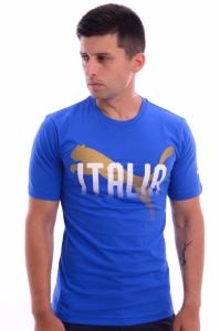 Tricou  PUMA  pentru barbati FIGC ITALIA FANWEAR GRAP TEE 752615_01