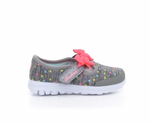 Pantofi sport  SKECHERS  pentru bebelusi GO WALK -STARRY STYL 81148N_GYMT