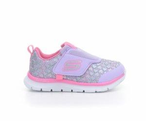 Pantofi sport  SKECHERS  pentru bebelusi SKECH-LITE-HEARTS SP 82074N_LVPK