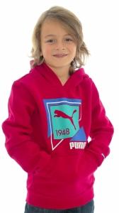 Hanorac  PUMA  pentru copii TD HOODED SWEAT - FLEECE 829690_02