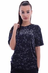 Tricou  PUMA  pentru femei FUSION ELONGATED AOP TEE 850123_01