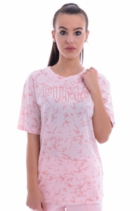 Tricou  PUMA  pentru femei FUSION ELONGATED AOP TEE 850123_31