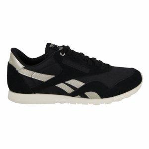 Pantofi sport  REEBOK  pentru femei CL NYLON SLIM METAL AQ98_31