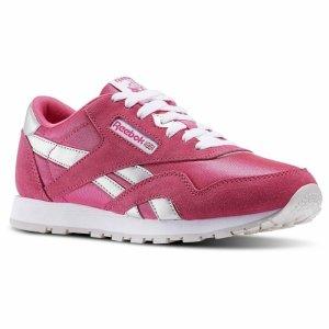 Pantofi sport  REEBOK  pentru femei CL NYLON BD12_87