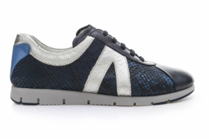 Pantofi sport  AEROSOLES  pentru femei FAST FORWARD MIX PITONE FASTFORWARD_BLU
