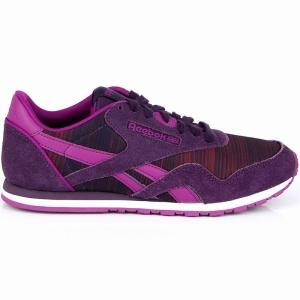 Pantofi sport  REEBOK  pentru femei CL NYLON SLIM GEO G M492_54